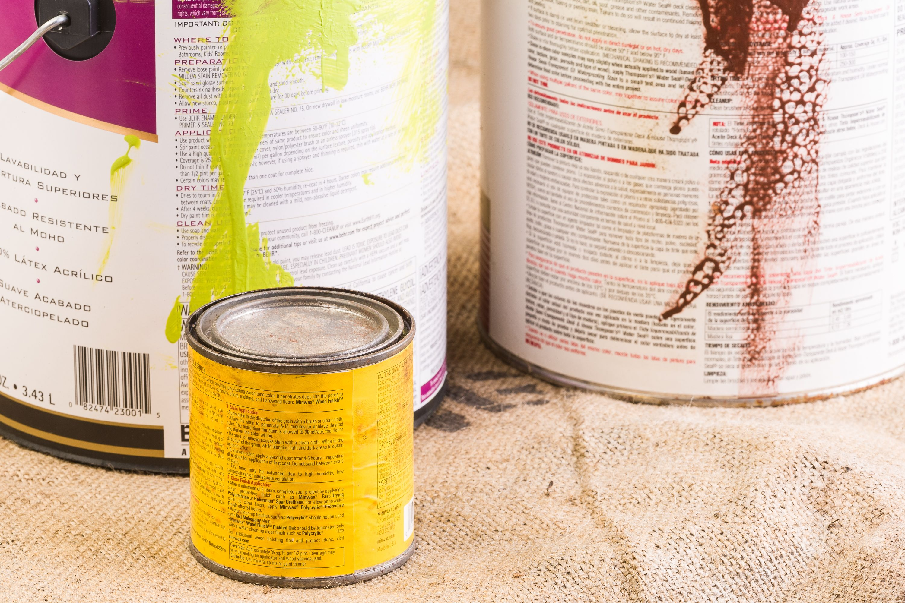 Natural paint stripper recipe