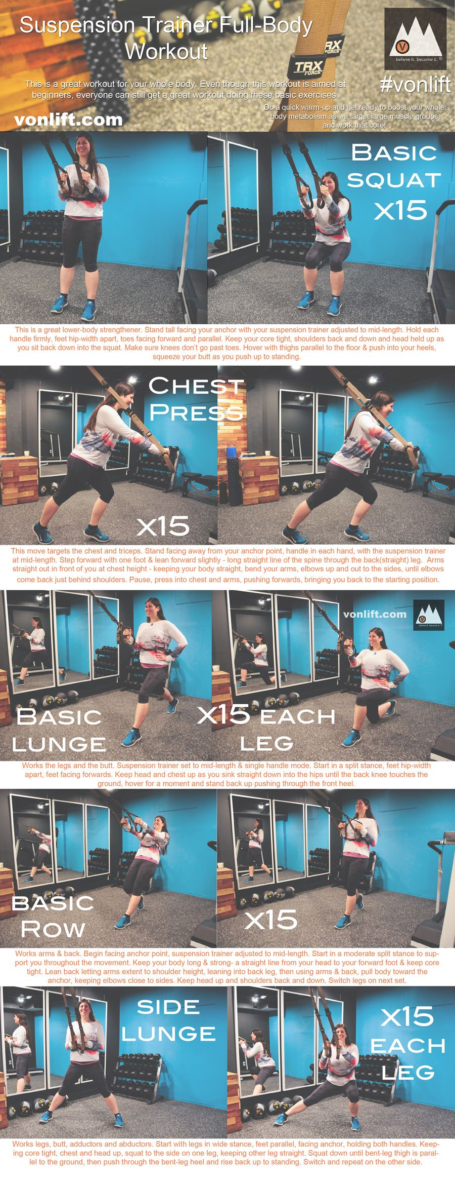 photograph about Printable Trx Workouts identified as Newbies TRX/Suspension Teacher Exercise session. (printable!) www