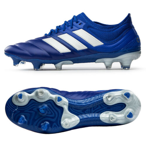 Adidas Copa 20 1 Firm Ground Fg Football Boots Soccer Cleats Blue Eh0884 Ebay In 2020 Football Boots Soccer Cleats Soccer