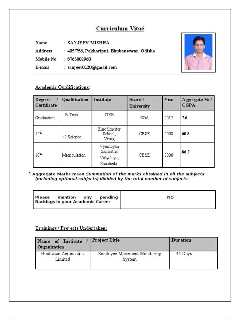Converter Resume format, Online resume template, Resume