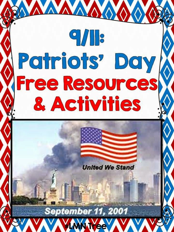 Lmn Tree September 11th Great Free Resources Tips And Lessons Kindergarten Social Studies Patriots Day Activities Social Studies Elementary