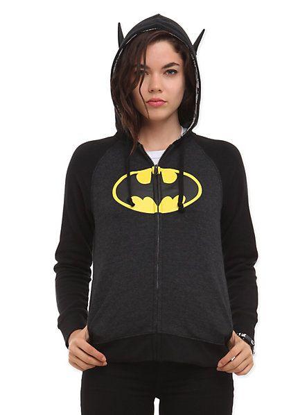 35e82dd75cb2 DC Comics I Am Batman Girls Hoodie