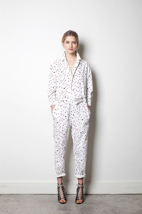 Looove this jumpsuit. Band of Outsiders, Pre-Fall 2012