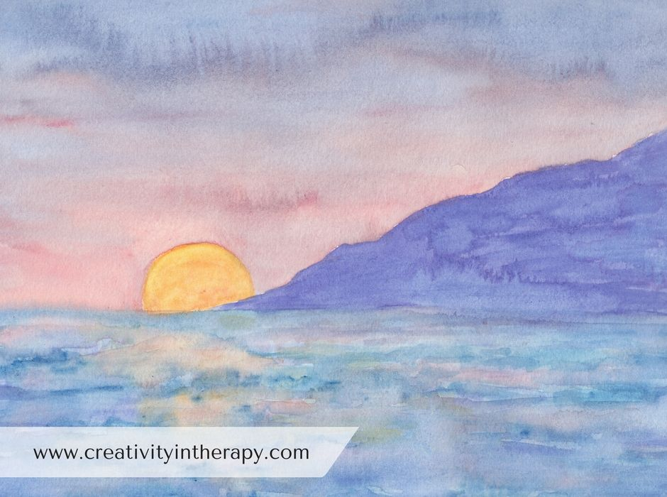 Create A Safe Place With Images Art Therapy Directives Art