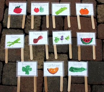 17 Best 1000 images about Gardening labels stakes on Pinterest