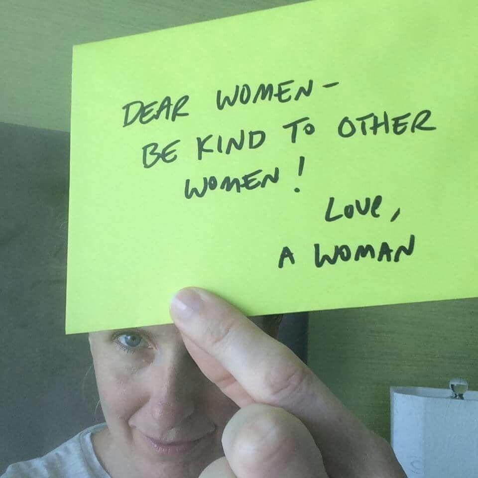 Elizabeth Gilbert on women judging other women.  Fantastic!