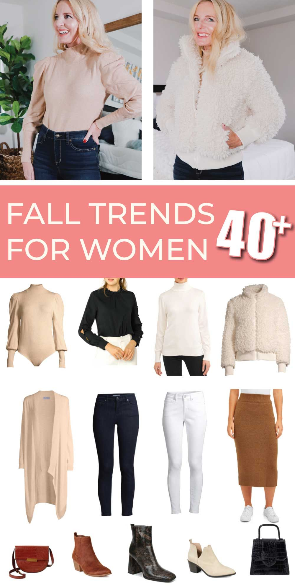 Fall Trends for Women Over 40