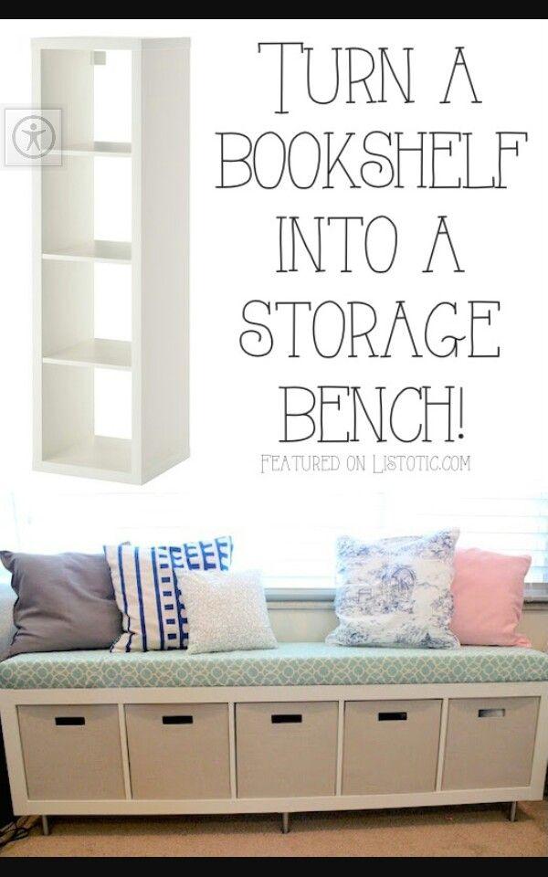 Pin by Yolanda Sledge on bookshelf to bench | Home Decor ...
