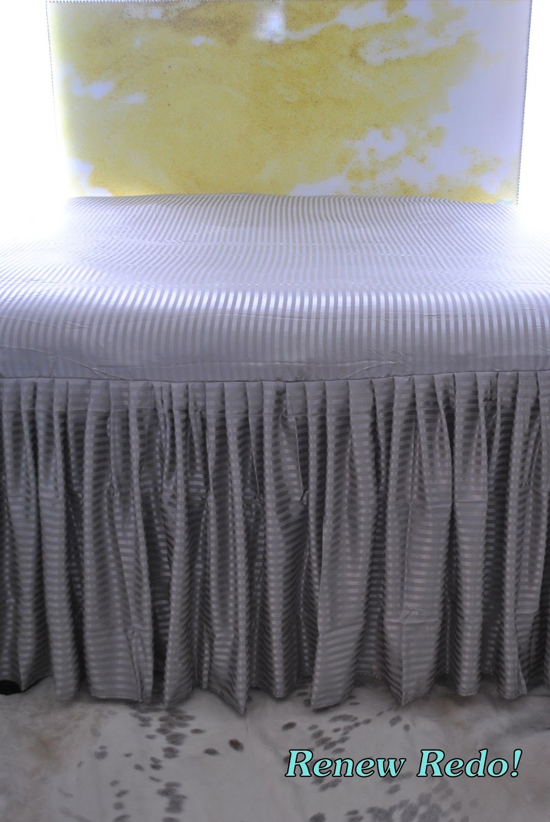 I Was Curious If Anyone Sells A Fitted Sheet With Bedskirt Attached