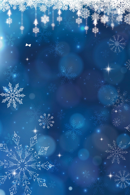 Blue Christmas Romantic Background Christmas background
