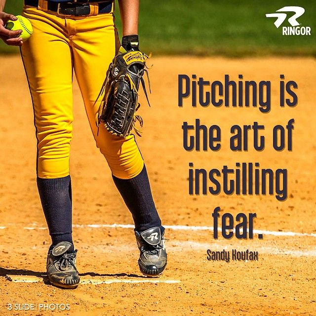 ringor pitching quotes sports i love pinterest pitch