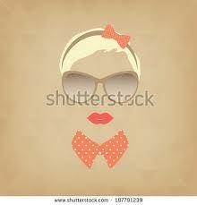 hipster girl logo - Google Search