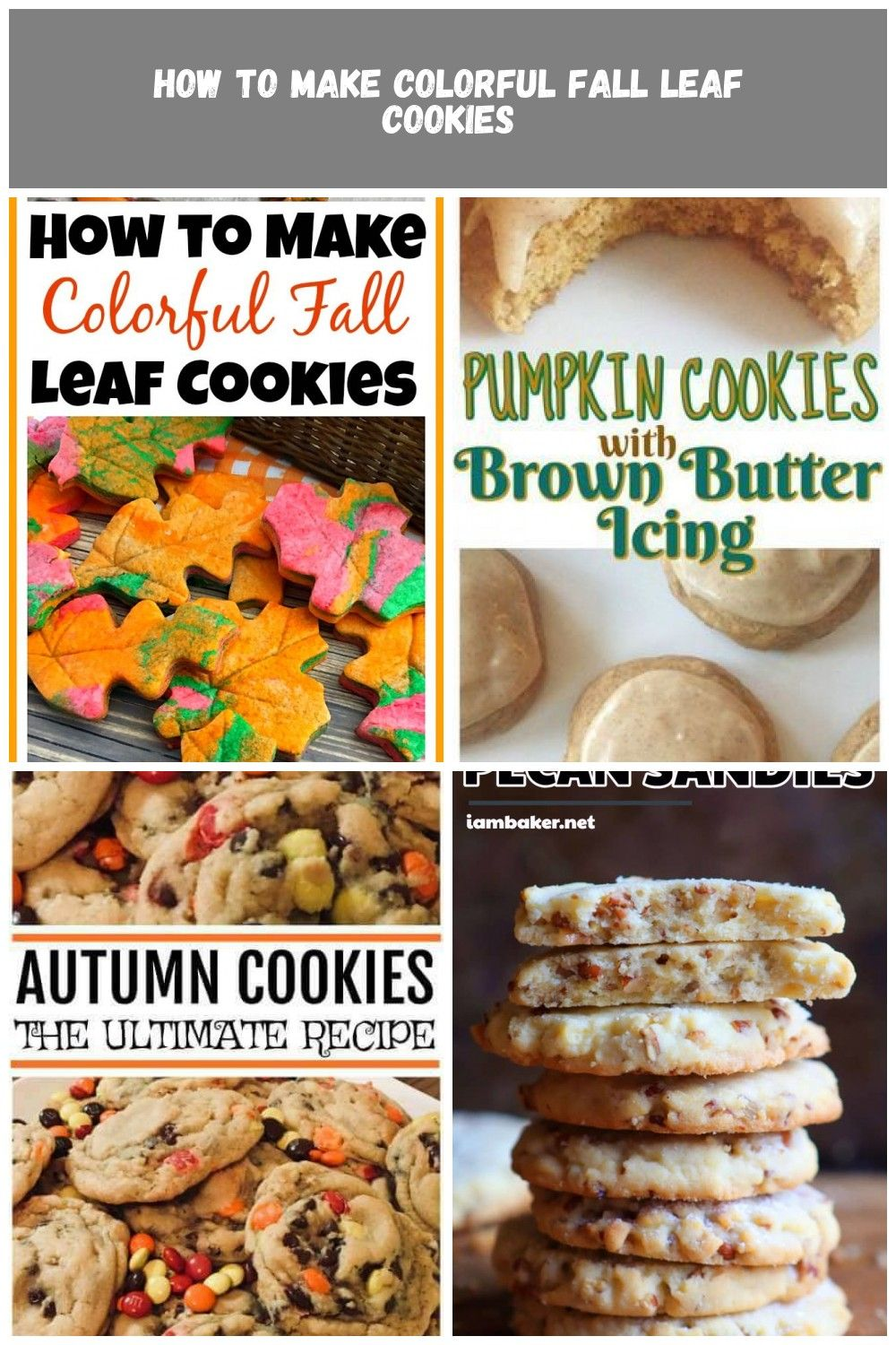 Yummy fall sugar cookies These colorful fall leaf cookies are perfect for parties or just as a fun fall dessert Theyre also really easy to make and kids love to help with...