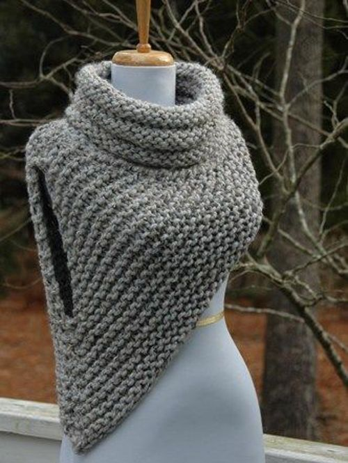 Katniss Cowl - Free Pattern (Beautiful Skills - Crochet Knitting ...