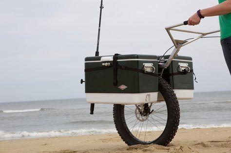 One Wheel Honey Badger Hauls Heavy Loads Outdoors Chinese Wheelbarrow Beach Cart Wheelbarrow