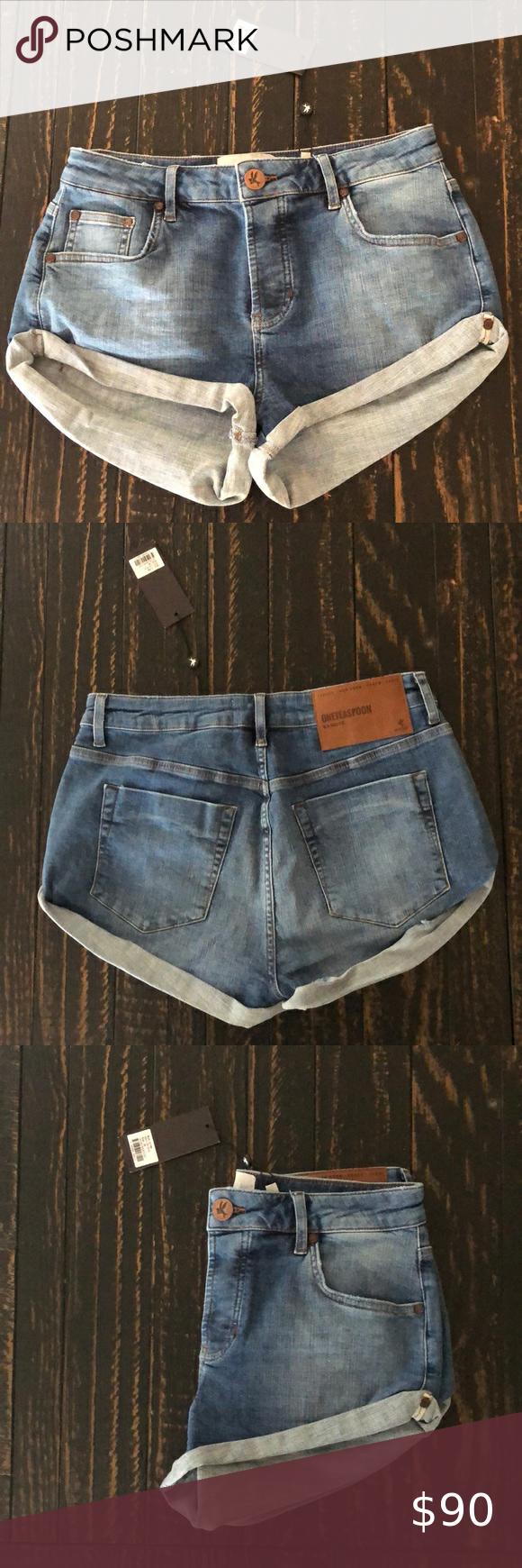 One Teaspoon Jean Shorts In 2020 Jean Shorts One Teaspoon Shorts Shorts