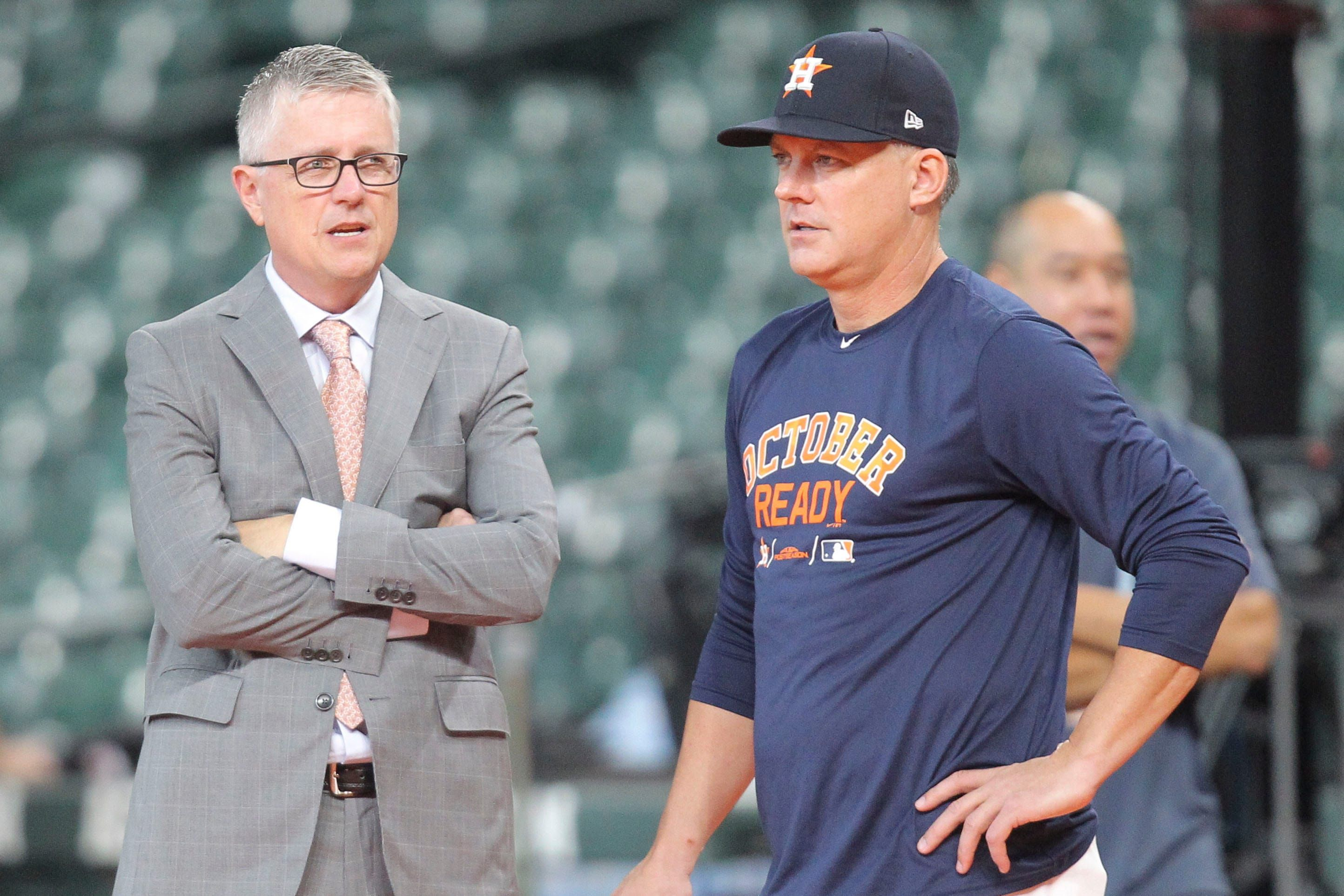Opinion Former Houston Astros Execs Sold Out Baseball Should Never Be Near Game Again In 2020 Mlb Astros Yankees Team