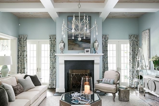 Silver Mink Benjamin Moore | Paint Colors | Family Room ...