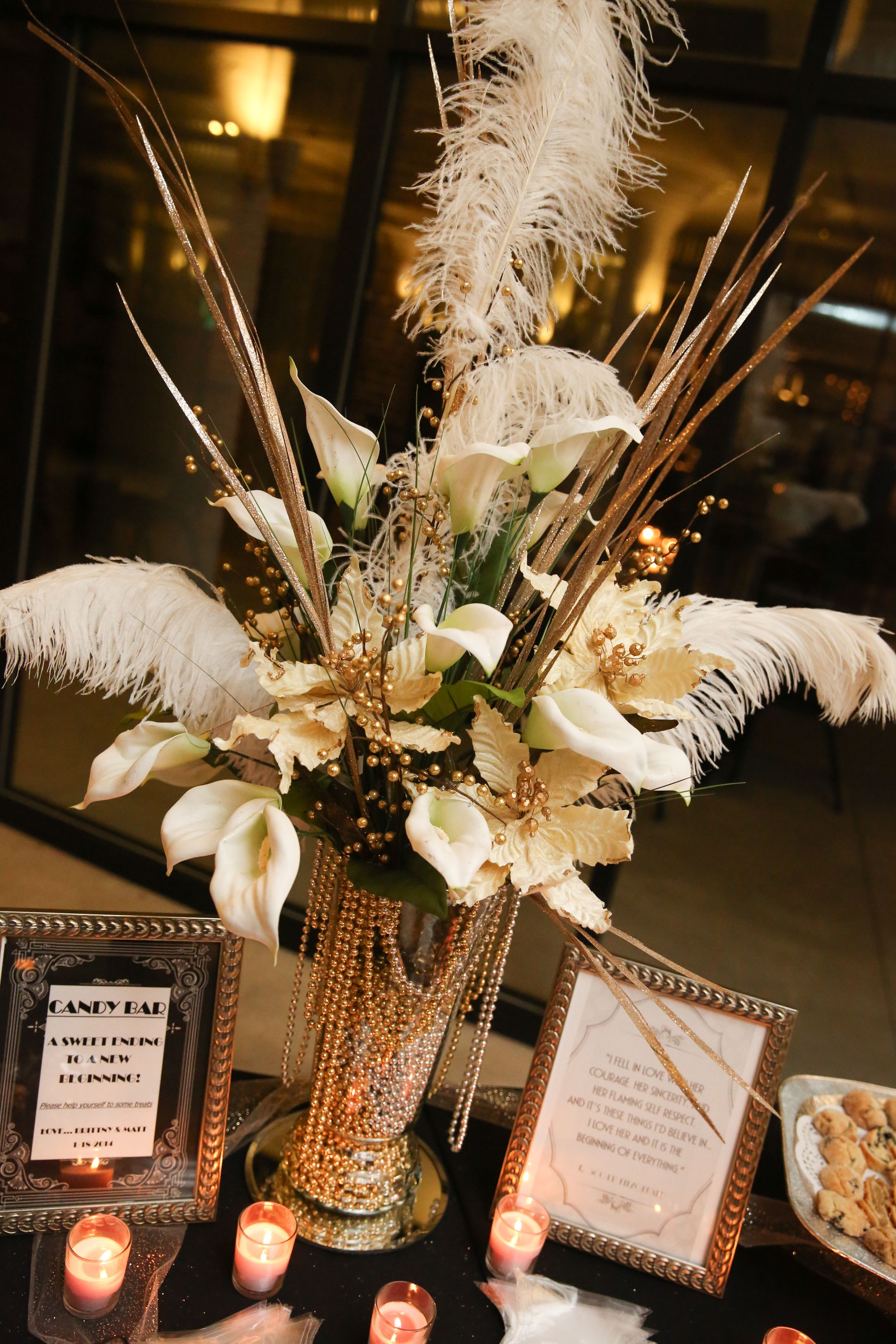 glamorous art-deco-inspired centerpieces … in 2019 | art