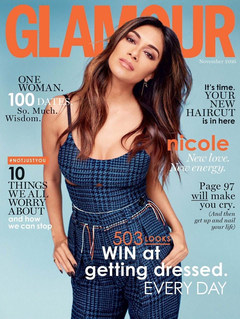 magazine glamour aout 2016