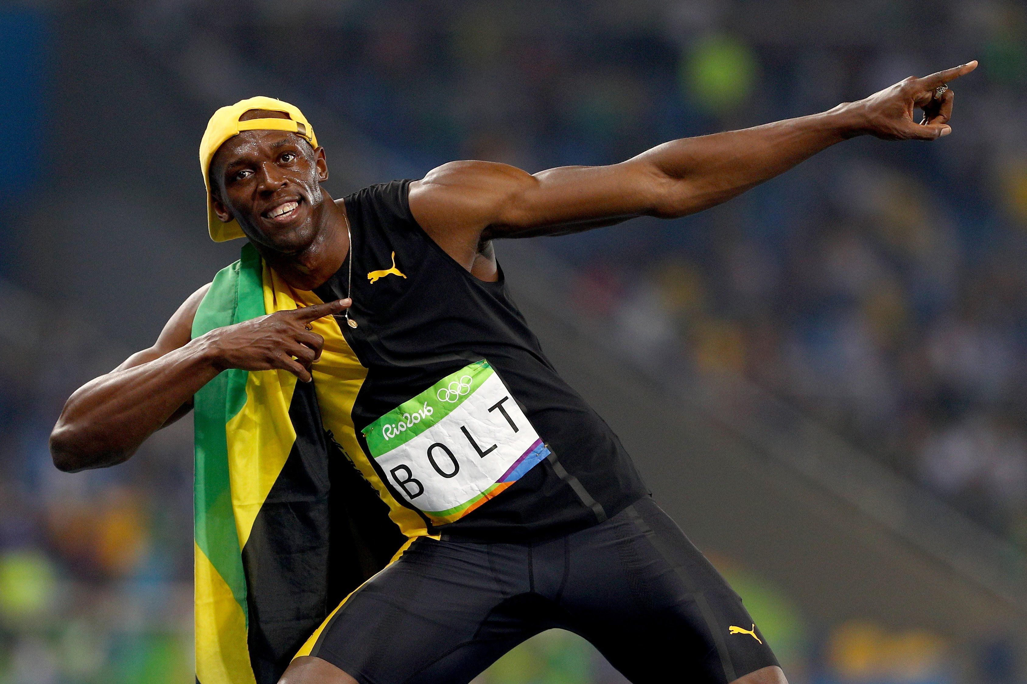 Bolt wins 100 gold remains the fastest man in the world ...