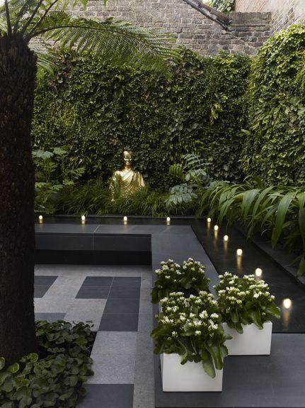 Fontanny w ogrodzie - wodne inspiracje Terrace design, Gardens and - Terrace Design