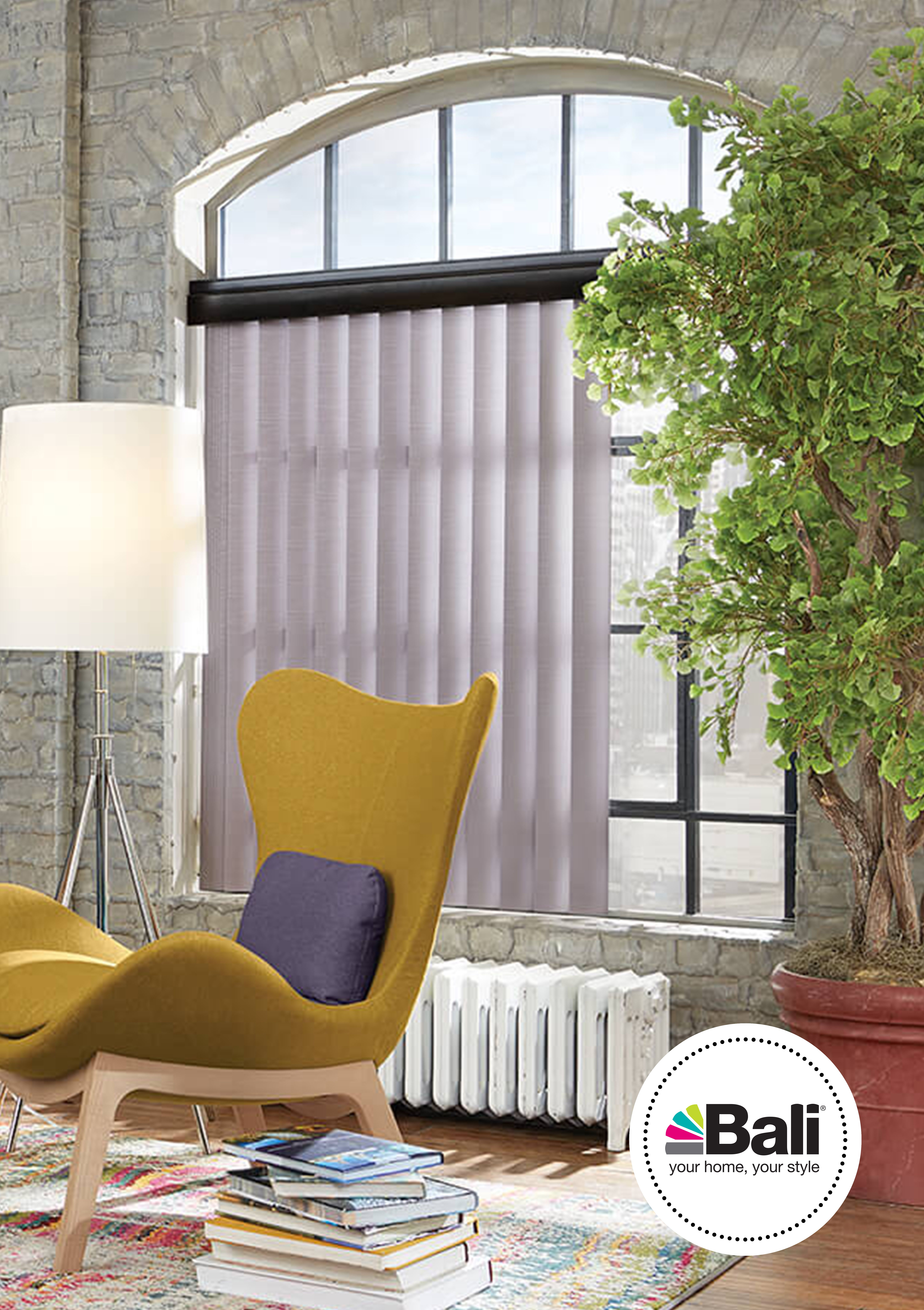 Vertical Blinds Make An Excellent Complement To Mini Blinds For A Total Room Solution That S Both Stylish Custom Vertical Blinds Vertical Blinds Shades Blinds