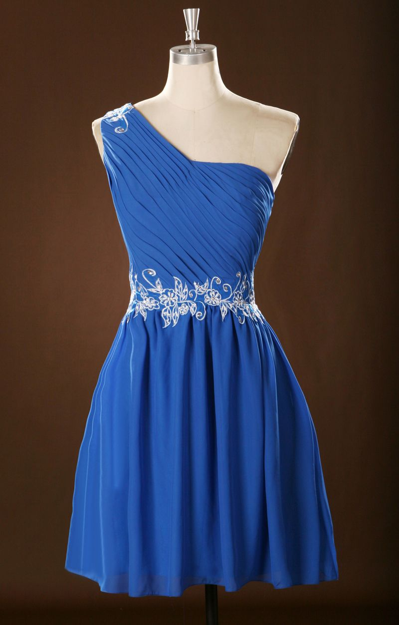 Graduation dresses vestido de festa royal blue homecoming short