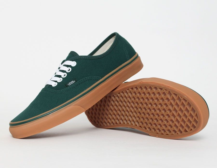 86f9c96b3add72 Vans Authentic Gum Green  Sneakers