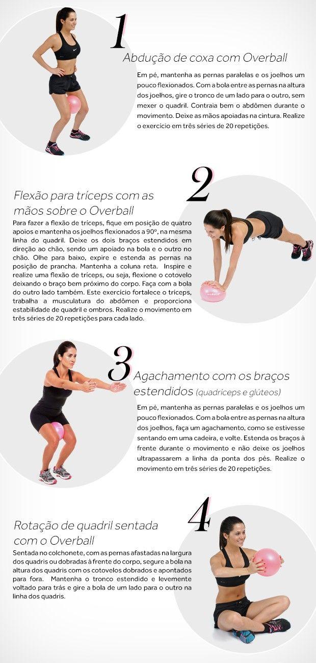 d333614cce7ef Exercícios para perder a barriga e definir o bumbum: veja como fazer em  casa | From Your Head to Your Toes | Exercícios, Exercícios físicos em  casa, ...