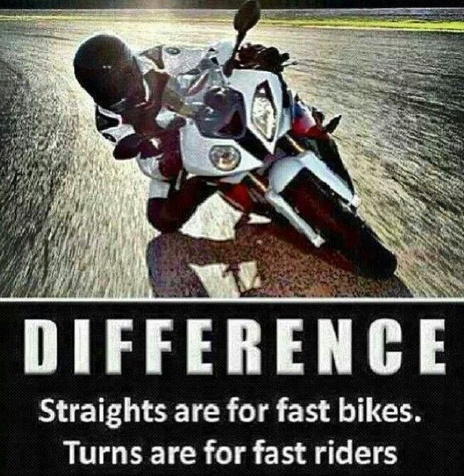 Motorcycle Quotes Funny Curves Quotesgram By Quotesgram