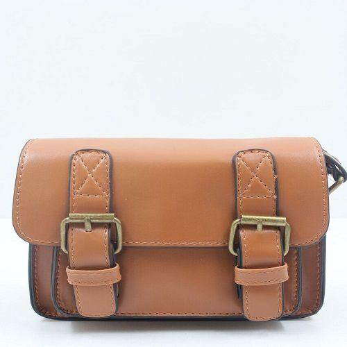 Blackcherry Bag Mini Structured Satchel   Tan Price:R259.00