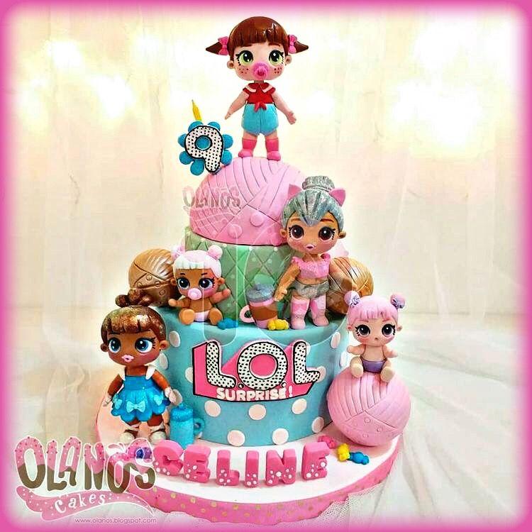 Beautiful Lol Surprise Dolls Birthday Cake Lol Surprise Party