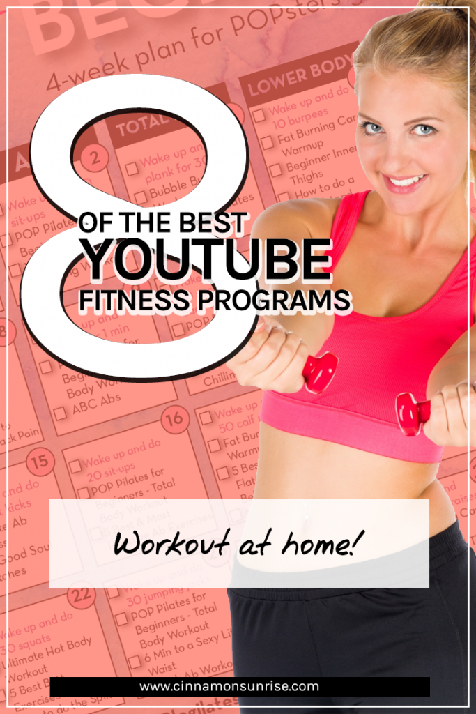 The best online YouTube based fitness programs Workout