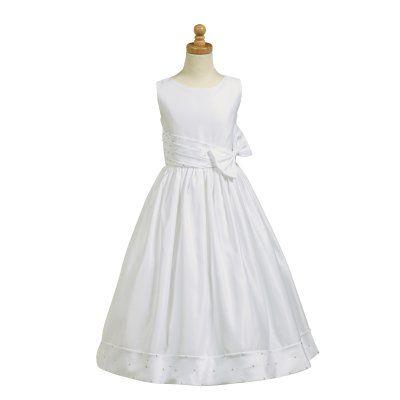 Jacey Satin First Communion Dress