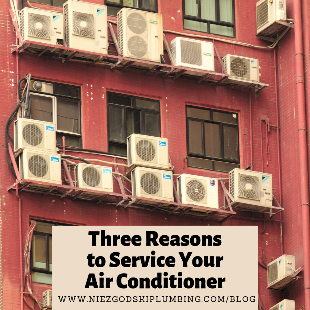 Three Reasons to Service Your Air Conditioner Clean air