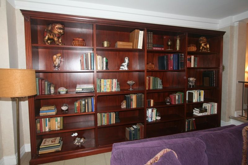 Home Staging New York The Art Of Arranging A Bookcase