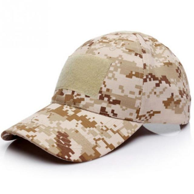 6 Patterns for Choice Snapback Camouflage Tactical Hat Patch Army Tactical  Baseball Cap Unisex ACU CP Desert Camo Hats For Men db542109e9