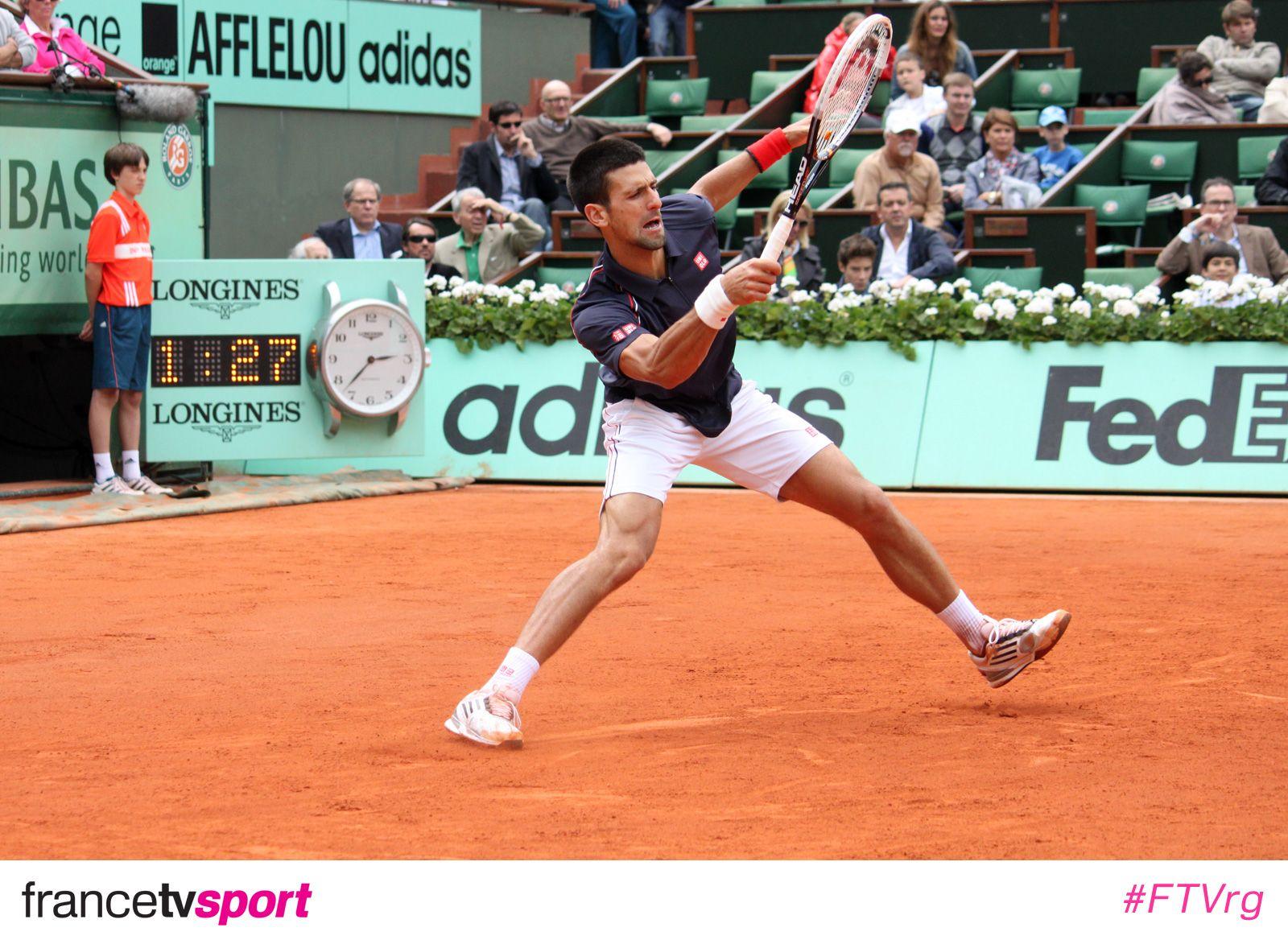 Novak Djokovic a connu des problèmes et est passé tout