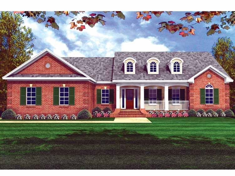 Eplans Country House Plan Great House And Size 1752 Square Feet And 3 Bedrooms From Eplans Country Style House Plans Country House Plans New House Plans