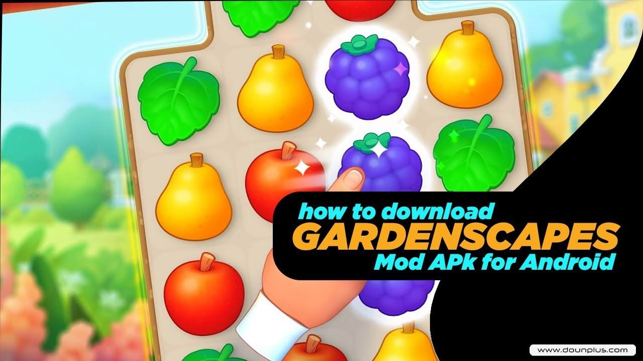 Free Download Gardenscapes Apk Mod for Android 2019