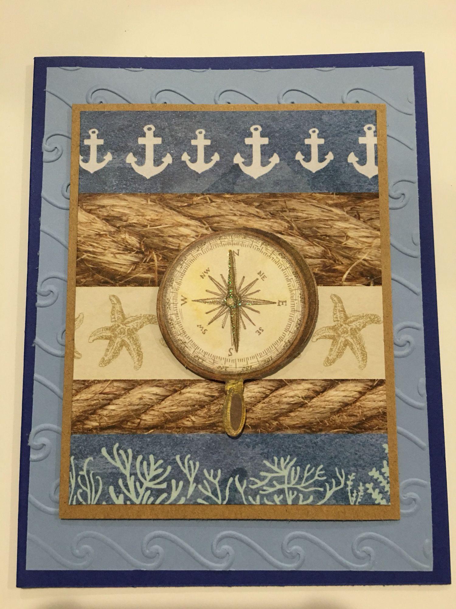 Cby Blank Nautical Greeting Card Cby Blank Cards Pinterest