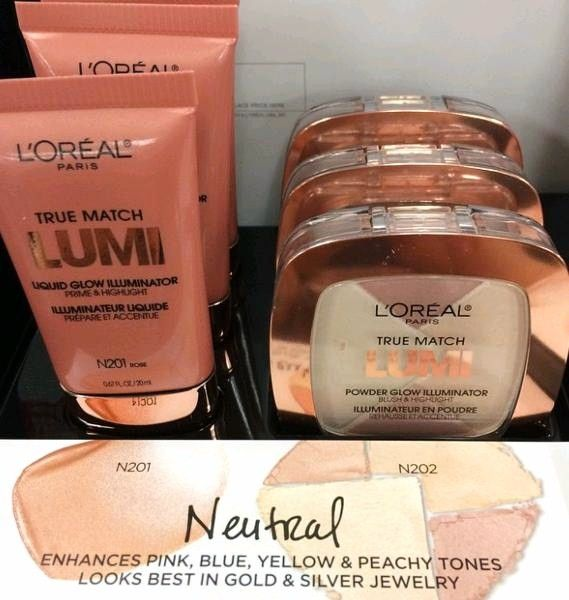 Nouveau Cheap: Spotted: NEW L'Oreal True Match Lumi Liquid Glow Illuminators and Powder Glow Illuminators