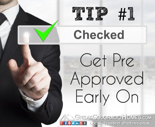 Get Pre Approved For A Mortgage Before You Start Looking At Homes