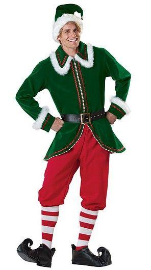 d18634e4f03ce Costume Lutin de Noel