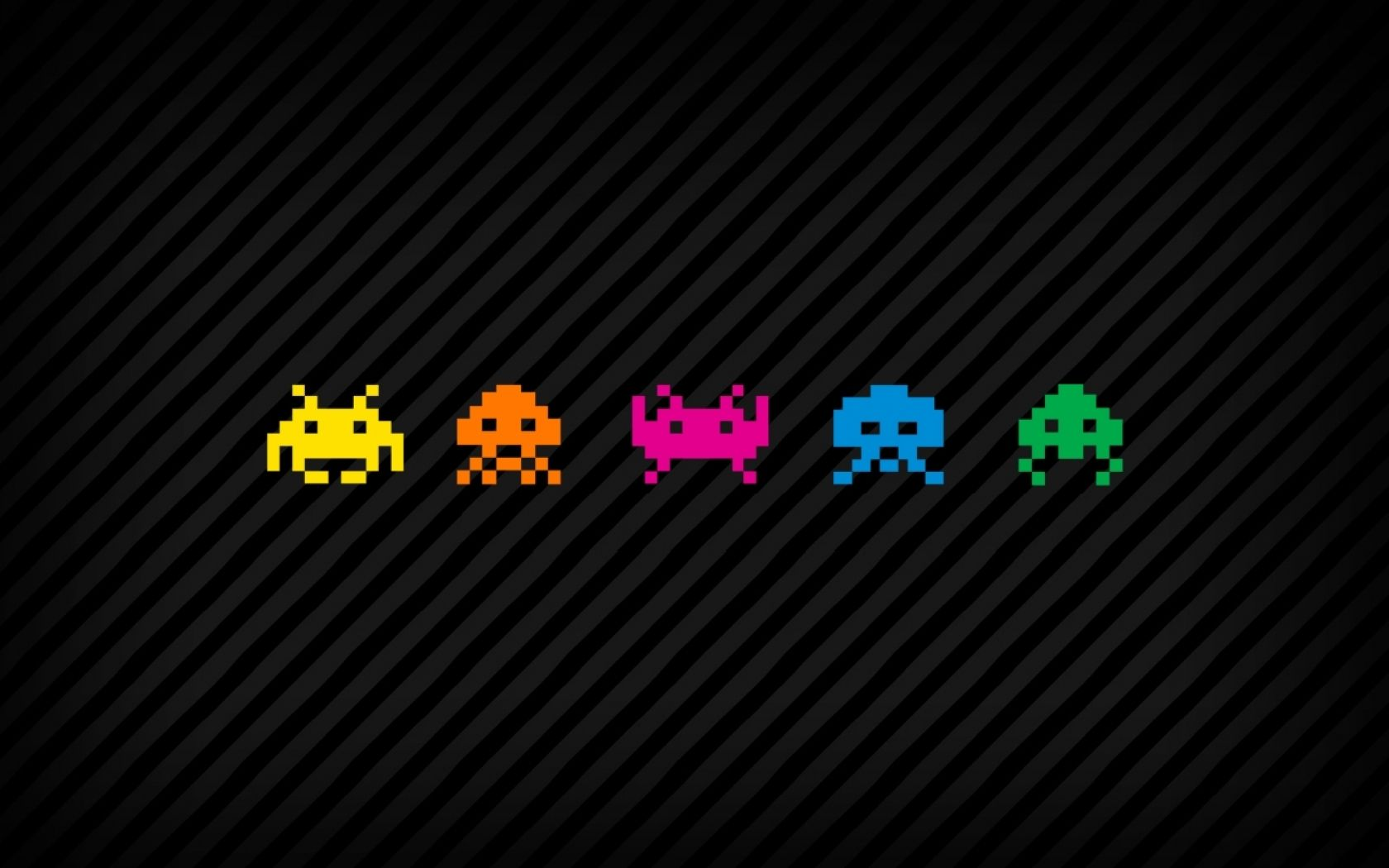 Hello Invaders Space Invaders Gaming Wallpapers