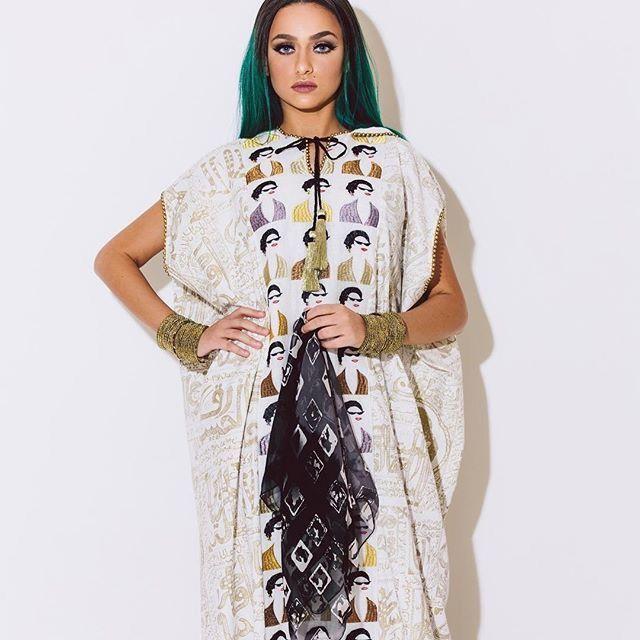 جلابيات قديمة بتصاميم عصرية للمصممة ندى بقشان Fashion Dresses Cover Up