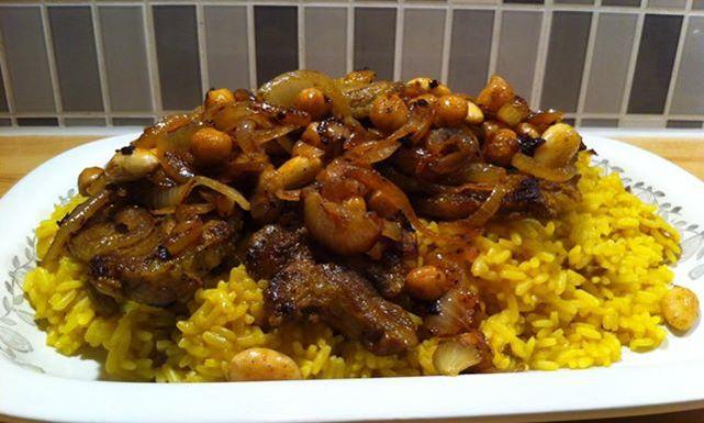 طريقة عمل كبسة لحم غنم Recipe Main Dish Recipes Food Dishes Food