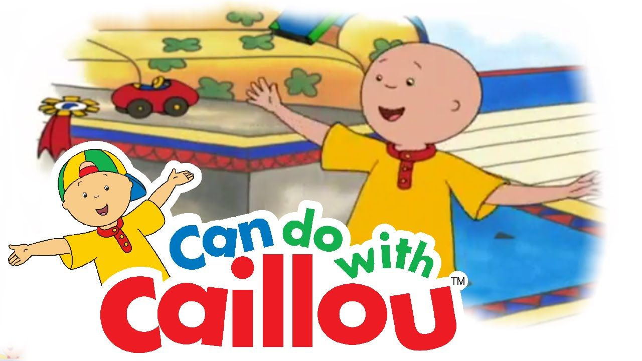 Caillou Can Learn To Dance Caillou Cartoon Kids Learn To Dance