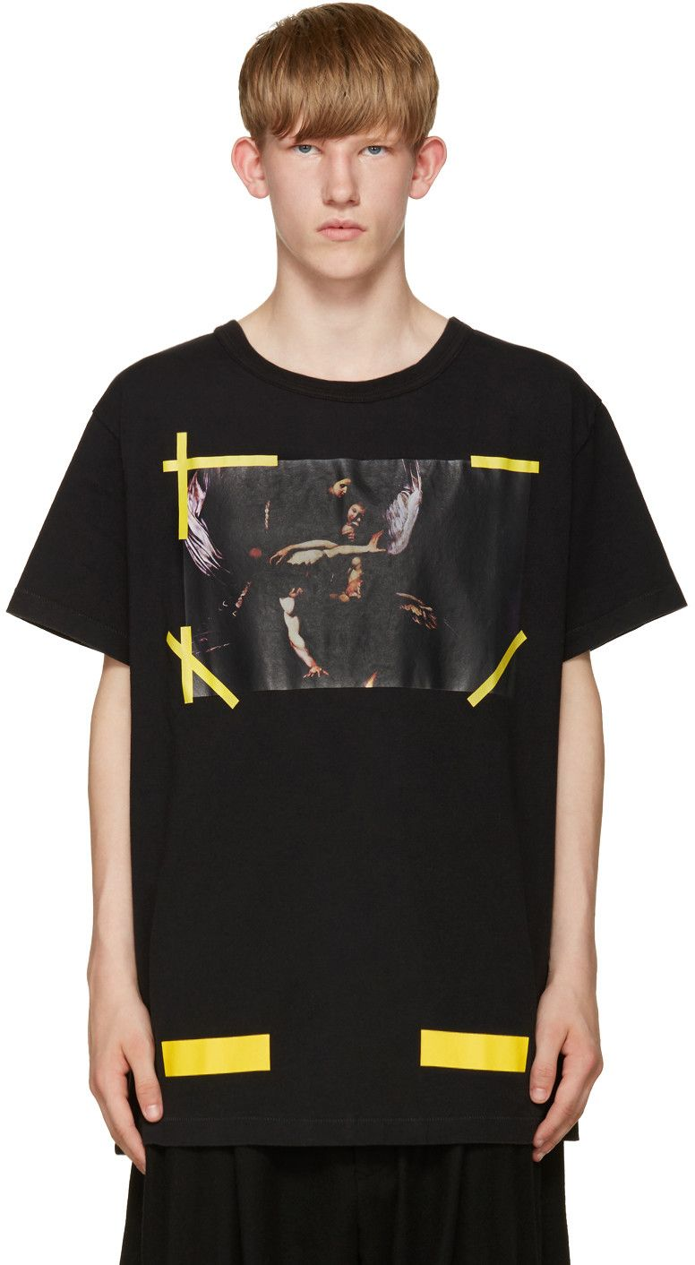 OFF-WHITE Black 7 Opere T-Shirt.  off-white  cloth  t-shirt  bf4af39c0